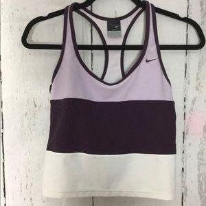 Nike Dri-Fit Women's Racer back Crop Top Size XS